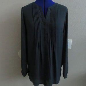 Button Up Shirt blouse Size L NWOT DR2 DANIEL RAIN